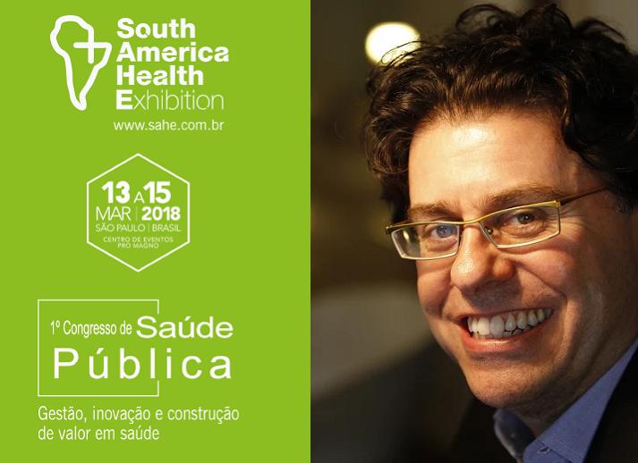 Áquilas Nogueira Mendes, Professor da Faculdade de Saúde Pública da USP, falará sobre os Dilemas do Financiamento do SUS durante a SAHE 2018