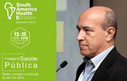 Saúde 4.0 é destaque no 1º Congresso de Saúde Pública durante a SAHE 2018. Lincoln A. Moura Jr, da SBIS, é palestrante confirmado.