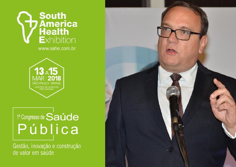 Sérgio Zanetta lidera painel que abordará Segurança do Paciente e a Medicina da Família na SAHE 2018