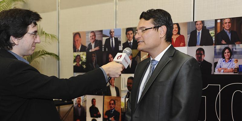 Fabricio Avini, Maria Manuela Alves dos Santos e José Branco no 100 Mais Influentes da Saúde