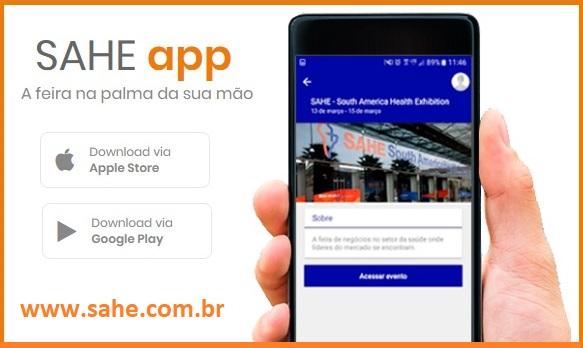 Faça o download do aplicativo da SAHE e acompanhe as novidades