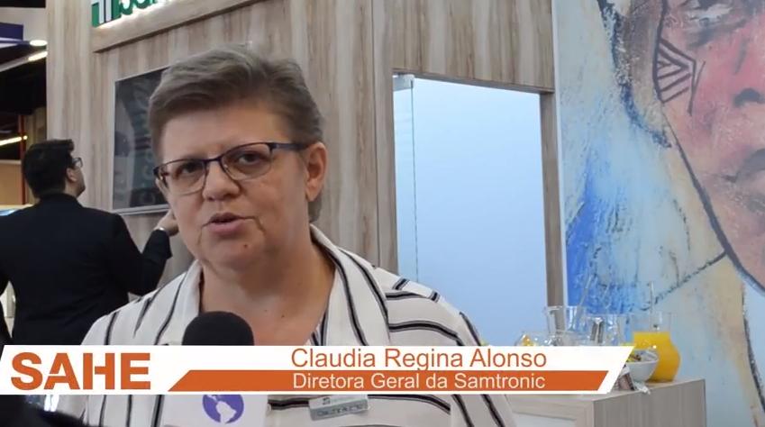 Samtronic apresenta nova linha de monitorização de pacientes na SAHE 2018