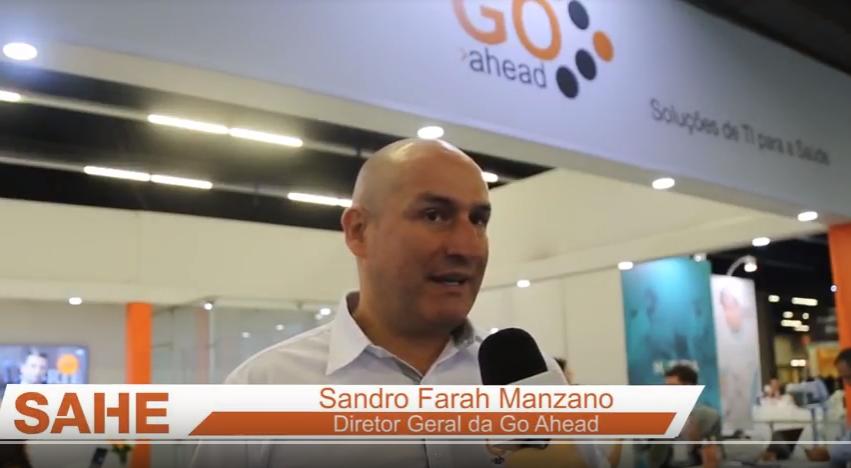 Sandro Farah Manzano, Diretor Geral da Go Ahead, fala da participação na SAHE 2018